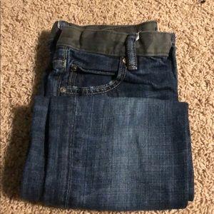 Boy's gap jeans w camp trim